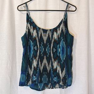 3 For $15 Olivaceous Patterned Camisole Sz S